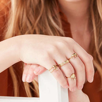 Luv Aj Disco Fever Ring Set | Urban Outfitters