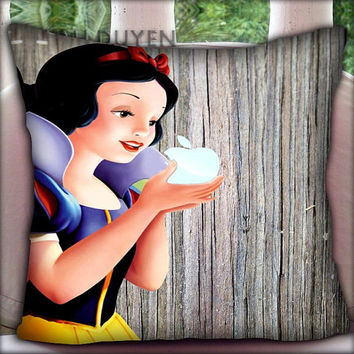 Snow White - Pillow Cover Pillow Case and Decorated Pillow.