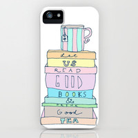 Good Books iPhone Case by Sarah Turbin
