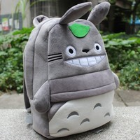 My Neighbor Totoro Plush Backpack Schoolbag