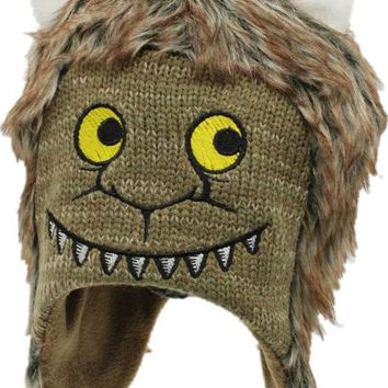Where The Wild Things Are Wolf Max Records Cosplay Costume Kids Children Halloween Monsters Hat Beanies Photo Photography Cap