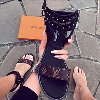 ''Louis Vuitton'' LV Slipper Women Sandals