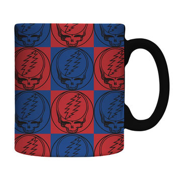 Grateful Dead - Steal Your Face Pattern 11oz Coffee Mug