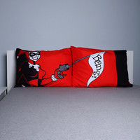 DC Comics Harley Quinn Bang Pillowcase Set