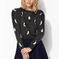 Coincidence & Chance Penguin Cropped Sweater - Urban Outfitters