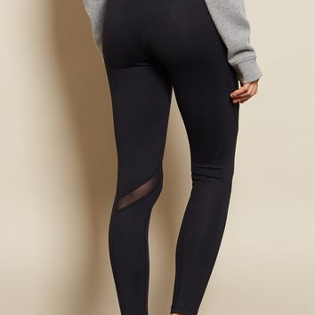 Black Athleisure Legging