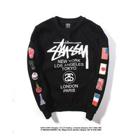 Women's and men's Stussy  Sweatshirt for sale 501965868-0108
