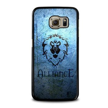 world of warcraft alliance wow samsung galaxy s6 case cover  number 1