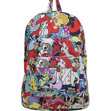 Loungefly Disney The Little Mermaid Collage Print Backpack