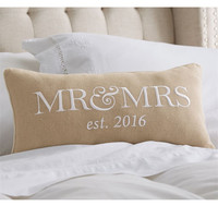 MUD PIE: Mr & Mrs Pillow