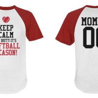 Baseball Mom Short Sleeve: This Mom Means Business