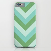 v lines - river iPhone & iPod Case by Her Art
