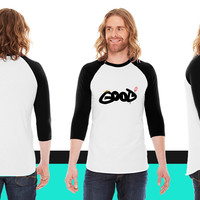 Good or Evil American Apparel Unisex 3/4 Sleeve T-Shirt