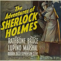 The Adventures of Sherlock Holmes 30x30 Movie Poster (1939)