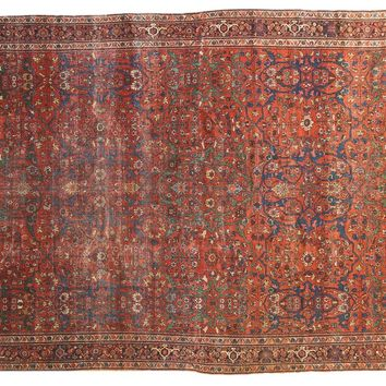 7x10 Antique Fereghan Carpet
