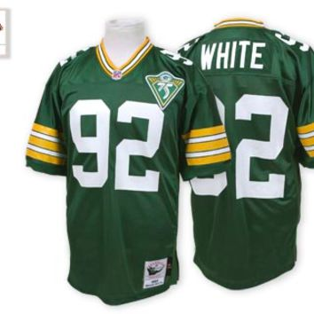 KUYOU Green Bay Packers Jersey - Reggie White Throwback Jerseys