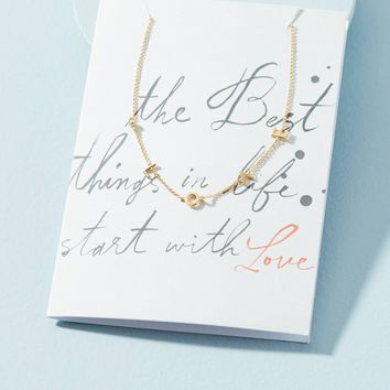 Sweet Sayings Necklace