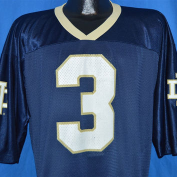 90s Notre Dame Football jersey t-shirt Extra Large