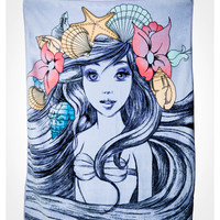 Ariel Sketch Fleece Blanket