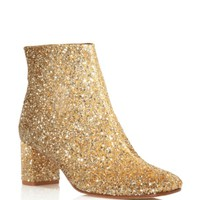kate spade new york Tal Glitter Mid Heel Booties | Bloomingdales's