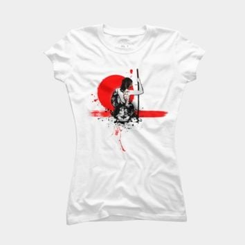 Trash Polka Female Samurai T Shirt By NGDesign Design By Humans