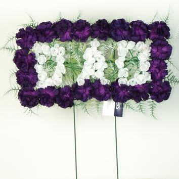 Dad Pillow Arrangement - Purple - 18 Inch