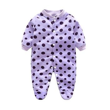 Autumn Baby Rompers Brand Ropa Bebe Autumn Newborn Babies Infantial 0-12 M Baby Girls Boy Clothes Jumpsuit Romper Baby Clothing