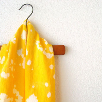 Mustard Yellow Summer Scarf by AmeliaandtheOx