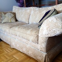 Ethan Allen 3-Seater Sofa, Couch.
