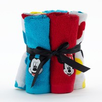 Disney's Mickey & Minnie Mouse 6-pk. Washcloths