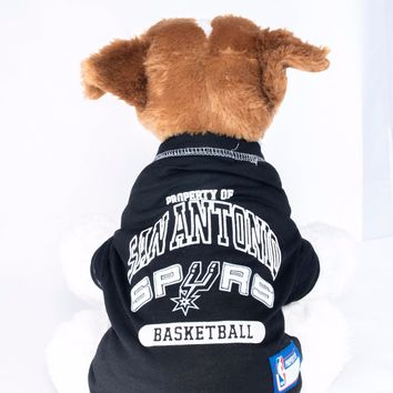 San Antonio Spurs Dog Shirt NBA Basketball Officially Licensed Pet Product