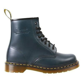 Dr Martens Mens Boots 1460 Navy Blue Smooth Leather 10072410