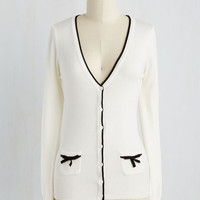 Fairytale Mid-length Long Sleeve Flawlessly Polished Cardigan