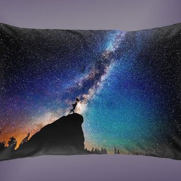Disney Lion King Nebula Sky High Quality Pillow Case 16 x 24 20 x 26 Cover