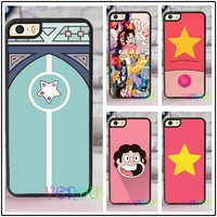 PEARL DOOR STAR STEVEN UNIVERSE fashion case cover cover for iphone 4 4s 5 5s SE 5c for 6 & 6 plus 6S & 6S plus 7 7 plus #CD394