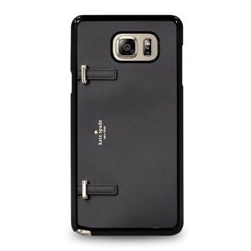 KATE SPADE TOTE BLACK Samsung Galaxy Note 5 Case Cover