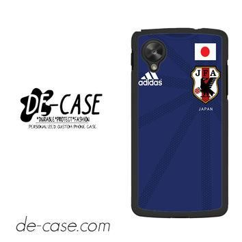 Japan Soccer Jersey For Google Nexus 5 Case Phone Case Gift Present YO