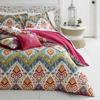 Moroccan Nights Boho Comforter Bed Set