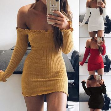 Lace Sleeve Shapes Shoulder Slim Sexy Somerset Dress