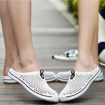 Seasonal Clearance Clogs For Women Light Breathable shoes Men Summer Fashion 5colors W