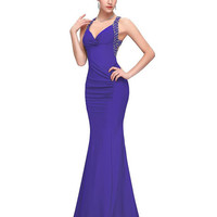 Cheap Grace Karin New Backless Prom Dress Long Sheath Mermaid Ball Gown Evening Prom Party Dress 2016 CL6080
