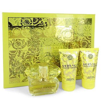 Versace Yellow Diamond Perfume By Versace Gift Set FOR WOMEN