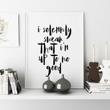 Nursery Decor,Nursery Wall Art,HARRY POTTER BABY,Printable Art,Gift Kids,Harry Potter Decal,Quote Print,Home Decor,Inspirational Quote