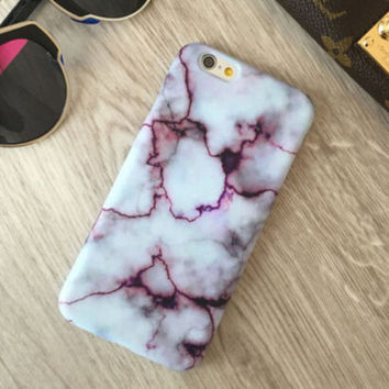 Marble iPhone 7 5s 6 6s Plus Case Cover + Free gift box