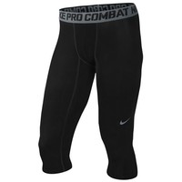 Nike Pro Combat Core Compression 3/4 Tight - Men's at Foot Locker