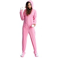 Bunny Costume Adult Footed Pajamas