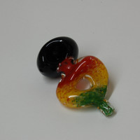 Rasta Colors Pyrex Glass Pipe