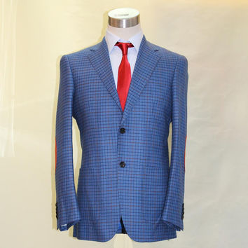 dimbusond wool and cashmere men's blazer