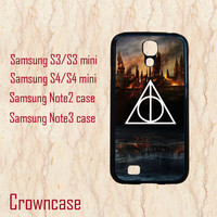 Samsung Galaxy Note 3 case,S3 mini case,Samsung S4 mini,Samsung Galaxy S4,Samsung Galaxy S3,Samsung Galaxy Note 2--harry potter,in plastic.