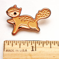 Flying Squirrel Pin Squirrel Enamel Pin Animal Enamel Pin Backpack Pins for Backpacks Kawaii Pin